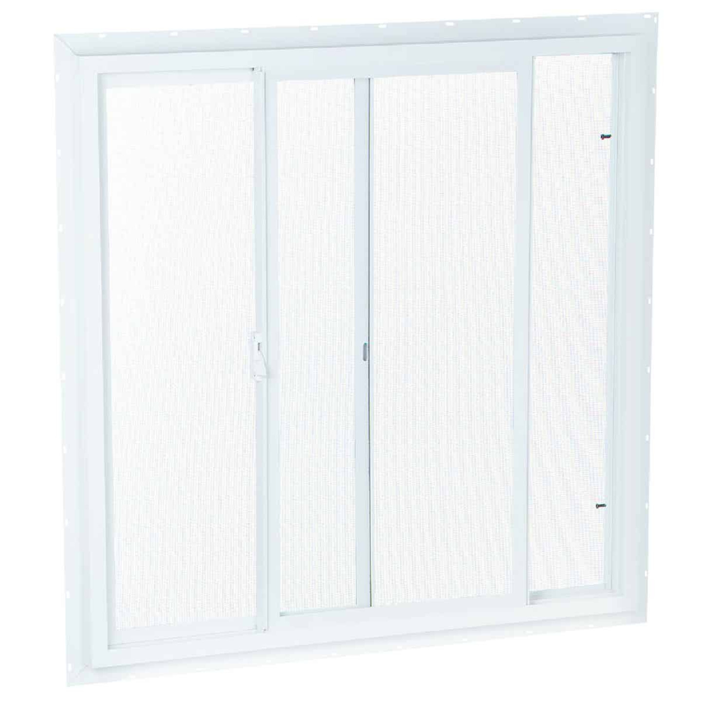 Northview 35-1/2 In. W. x 35-1/2 In. H. White PVC Single Glazed Utility Sliding Window Image 1