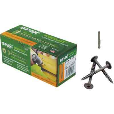 Spax PowerLags 1/4 In. x 2-1/2 In. Washer Head Exterior Structure Screw (50 Ct.)