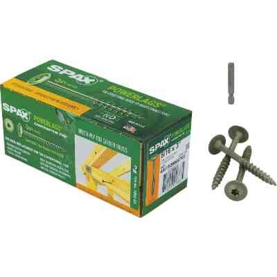 Spax PowerLags 5/16 In. x 3 In. Washer Head Exterior Structure Screw (50 Ct.)
