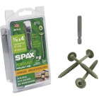 Spax PowerLags 5/16 In. x 4 In. Washer Head Exterior Structure Screw (12 Ct.) Image 1