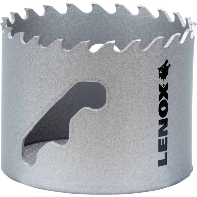 Lenox 2-1/2 In. Carbide-Tipped Hole Saw w/Speed Slot