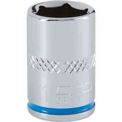 Channellock 1/4 In. Drive 11 mm 6-Point Shallow Metric Socket