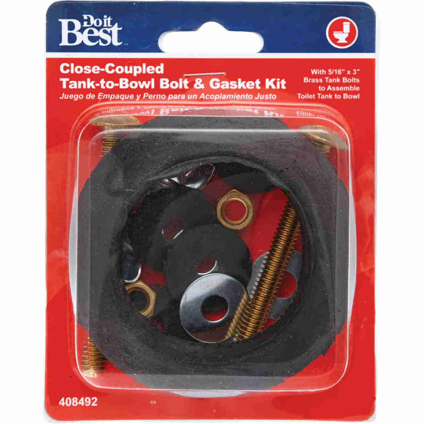 Do it 5/16 In. x 3 In. Toilet Bolt and Washer Kit  Image 2