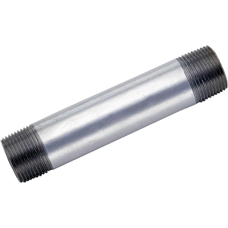 Anvil 1 In. x 3-1/2 In. Welded Steel Galvanized Nipple Image 1