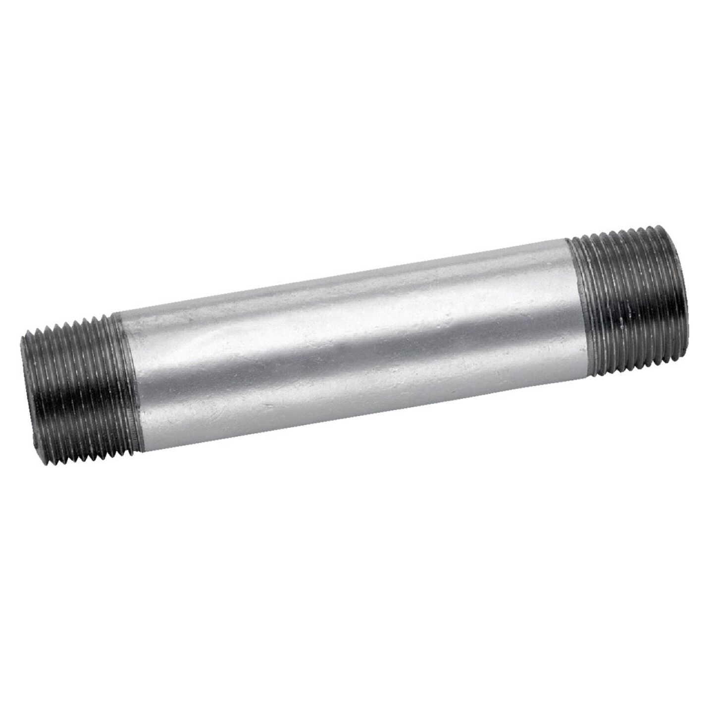 Anvil 1-1/4 In. x 8 In. Welded Steel Galvanized Nipple Image 1