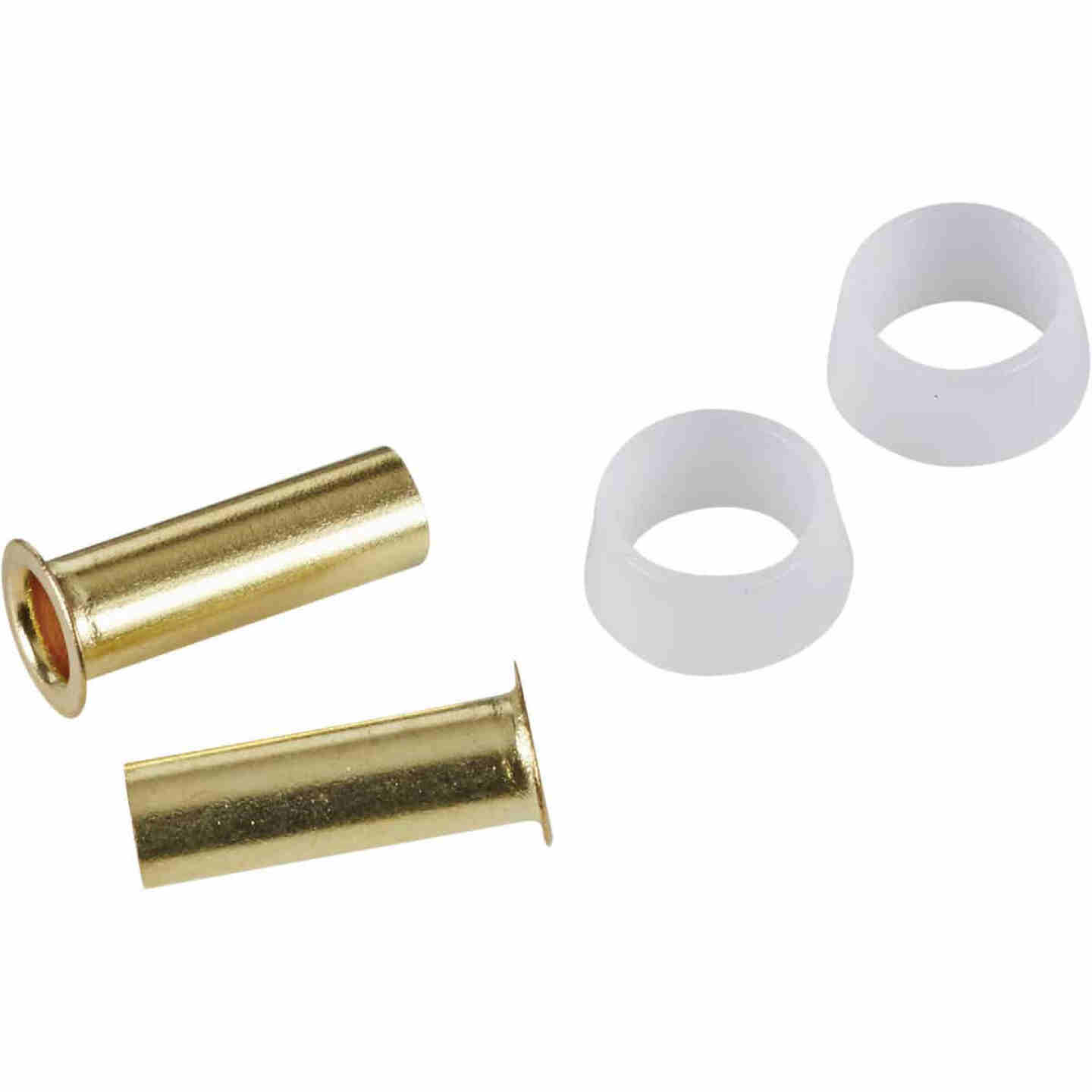 Do it 1/4 In. Brass Compression Insert (2-Pack) Image 1