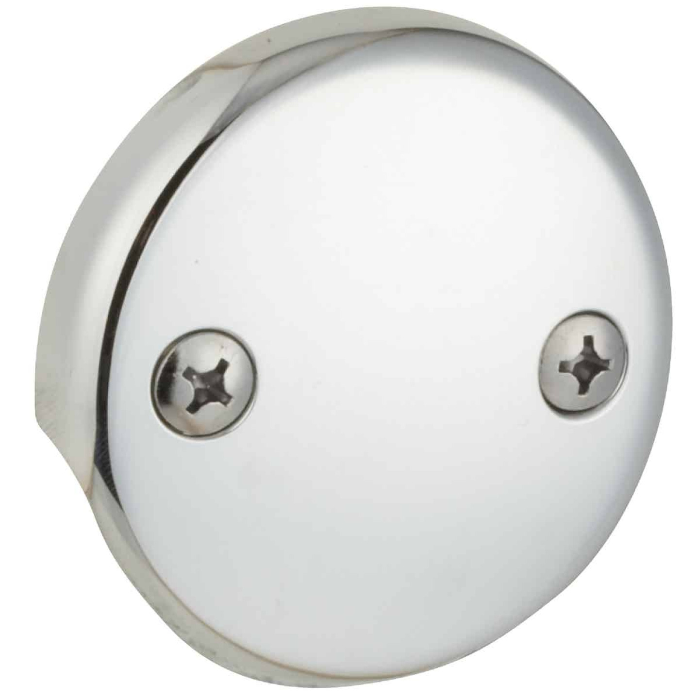 Do it Two-Hole Chrome Bath Drain Face Plate Image 1