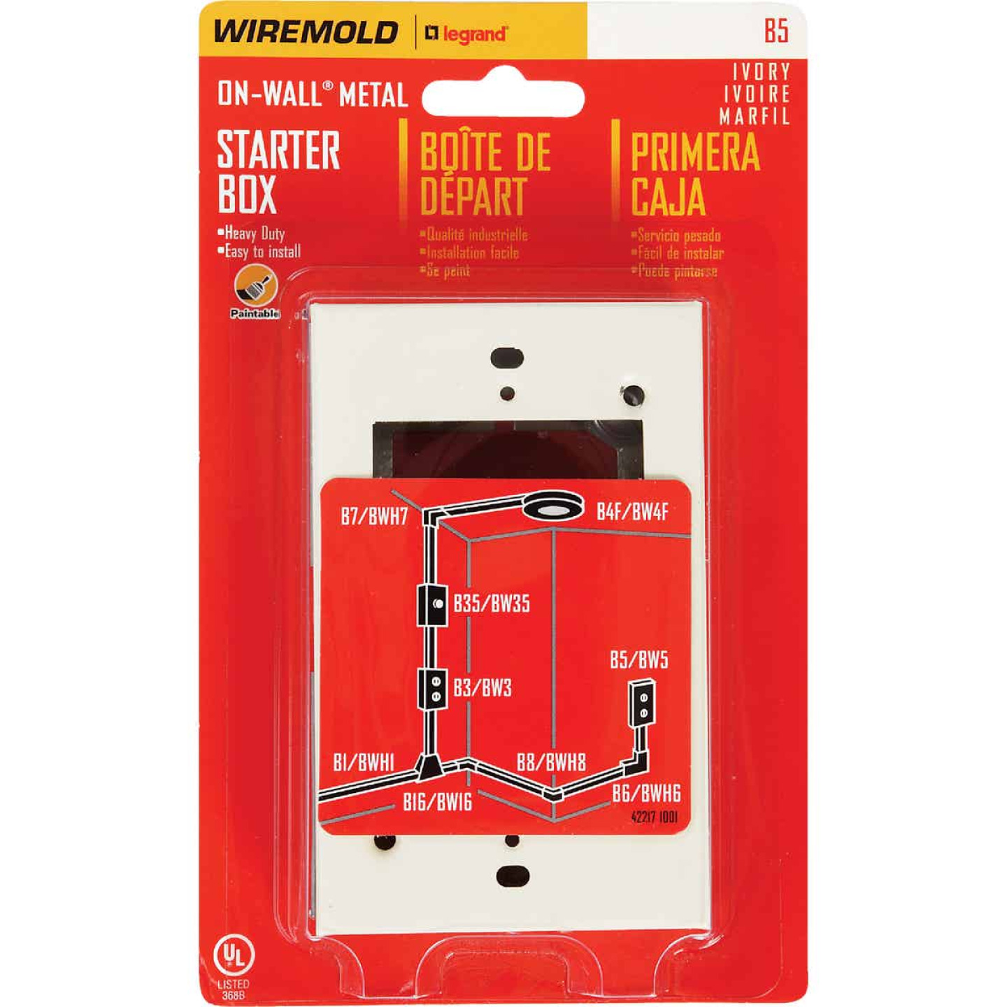 Wiremold Ivory Starter Box Image 2