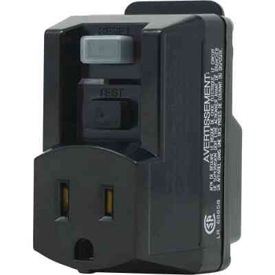 Yellow Jacket 15A 120V GFCI Portable Plug-In Adapter