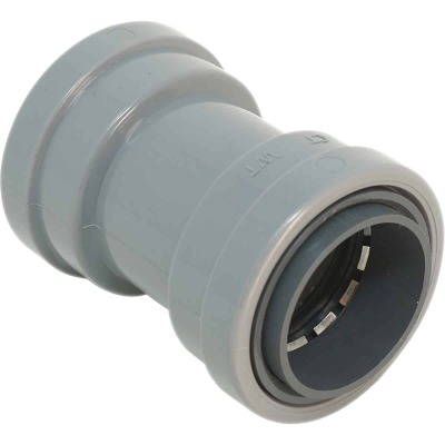 Southwire SimPush 1/2 In. PVC-CIC Push-To-Install Conduit Coupling (5-Pack)