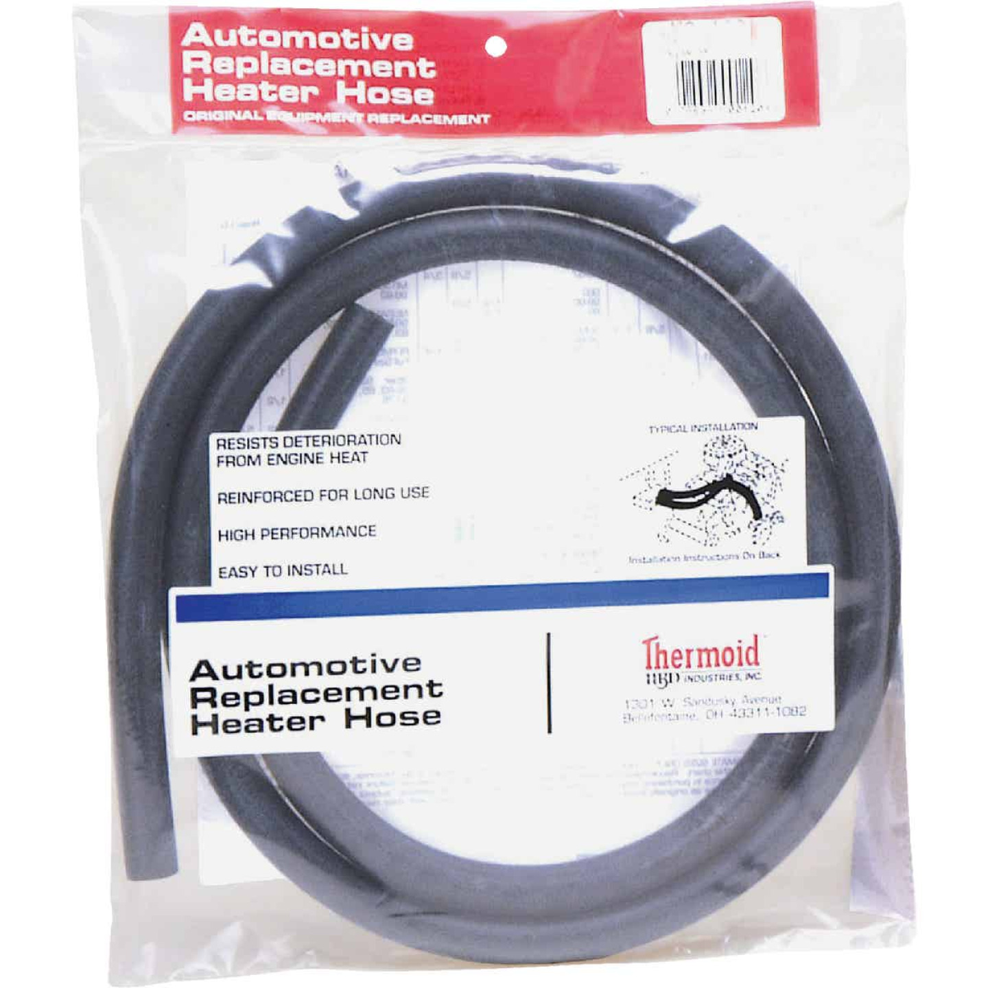 Thermoid 3/4 In. ID x 6 Ft. L. Auto Heater Hose Image 1