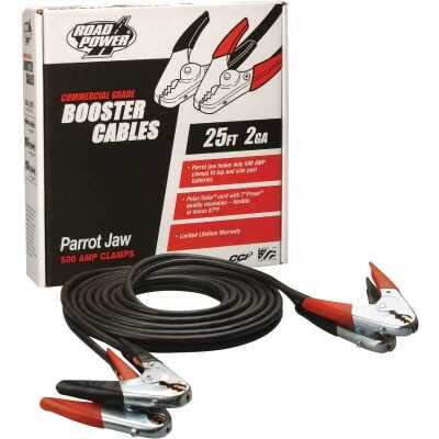 Road Power 25' 2 Gauge 500 Amp Booster Cable