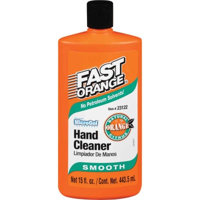 PERMATEX Fast Orange Smooth Orange Citrus Hand Cleaner, 15 Oz.
