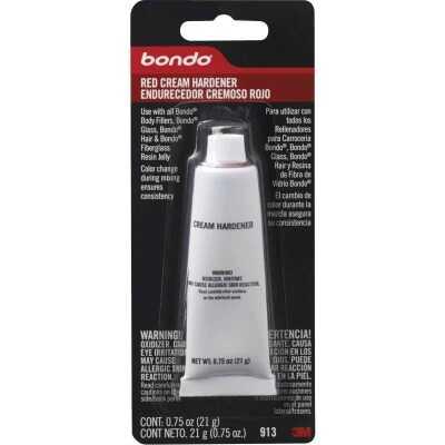 3M Bondo 0.75 Oz. Red Cream Body Filler Hardener
