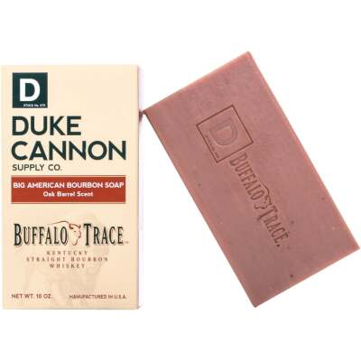 Duke Cannon 10 Oz. Big American Bourbon Oak Barrel Bar Soap