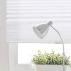Home Impressions 1 In. Light Filtering Cellular White 34 In. x 72 In. Cordless Shade Image 3