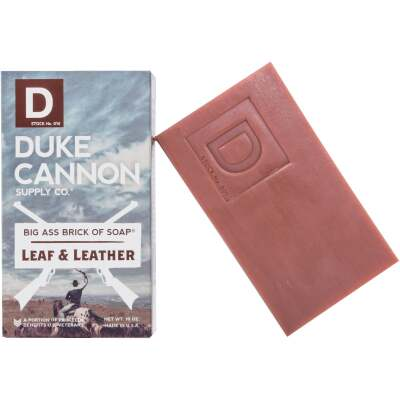 Duke Cannon 10 Oz. Leaf & Leather Big Ass Brick of Soap