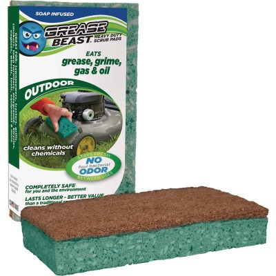 Grease Beast Outdoor Scrub Pad