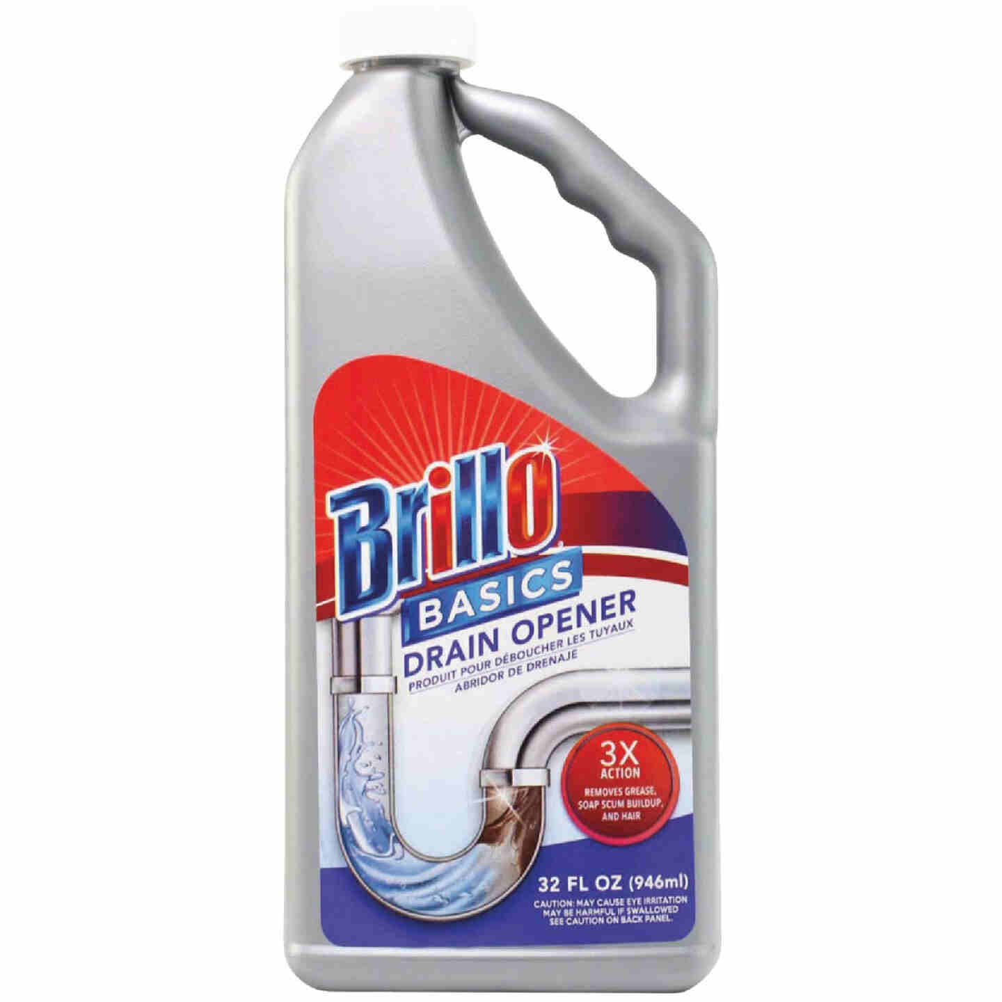 Brillo Basics 32 Oz. Liquid Drain Opener Image 1