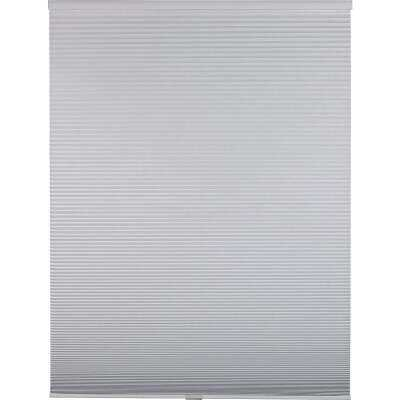 Home Impressions 1 In. Room Darkening Cellular White 29 In. x 72 In. Cordless Shade