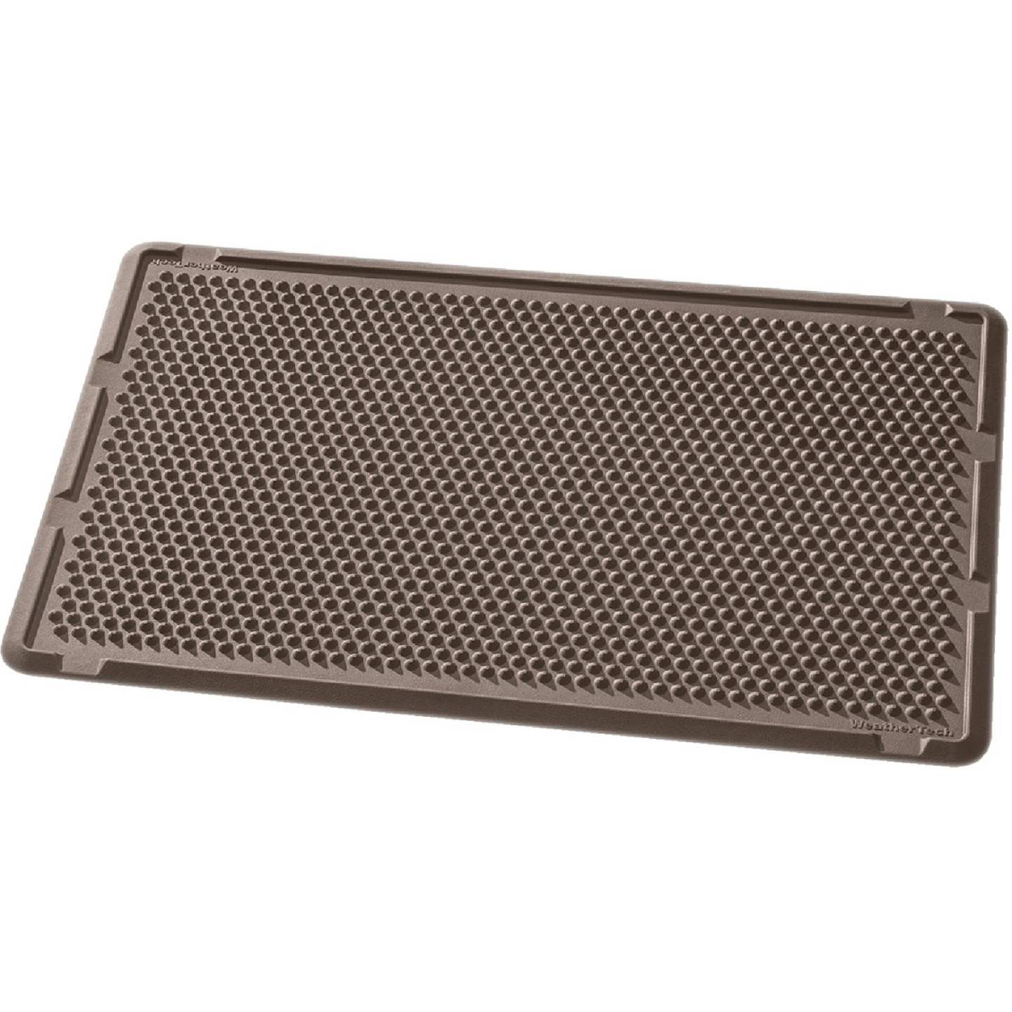 WeatherTech 24 In. x 39 In. Brown Outdoor Mat Image 1