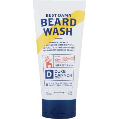 Duke Cannon 6 Oz. Citrus Beard Wash