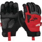 Milwaukee Men's Large Synthetic Leather Impact Demolition Glove Image 1