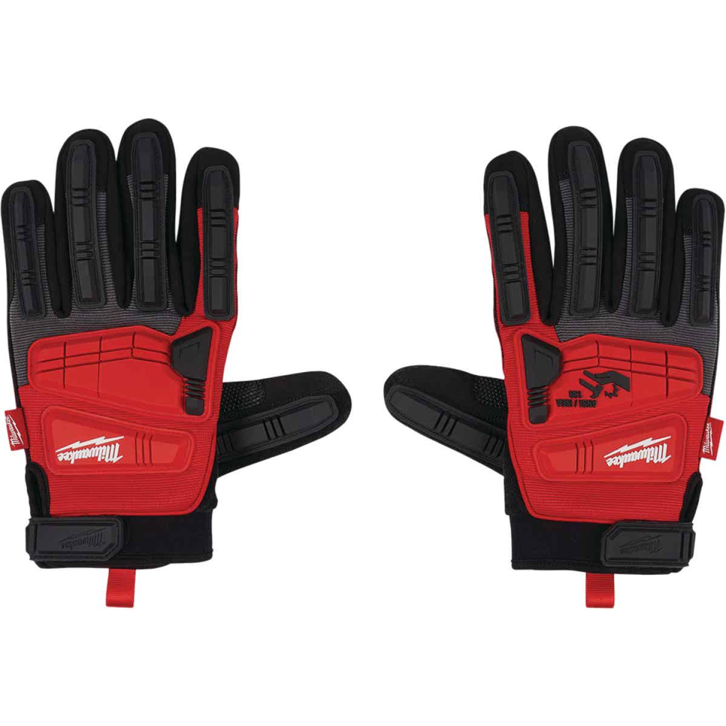 Milwaukee Men's Large Synthetic Leather Impact Demolition Glove Image 3