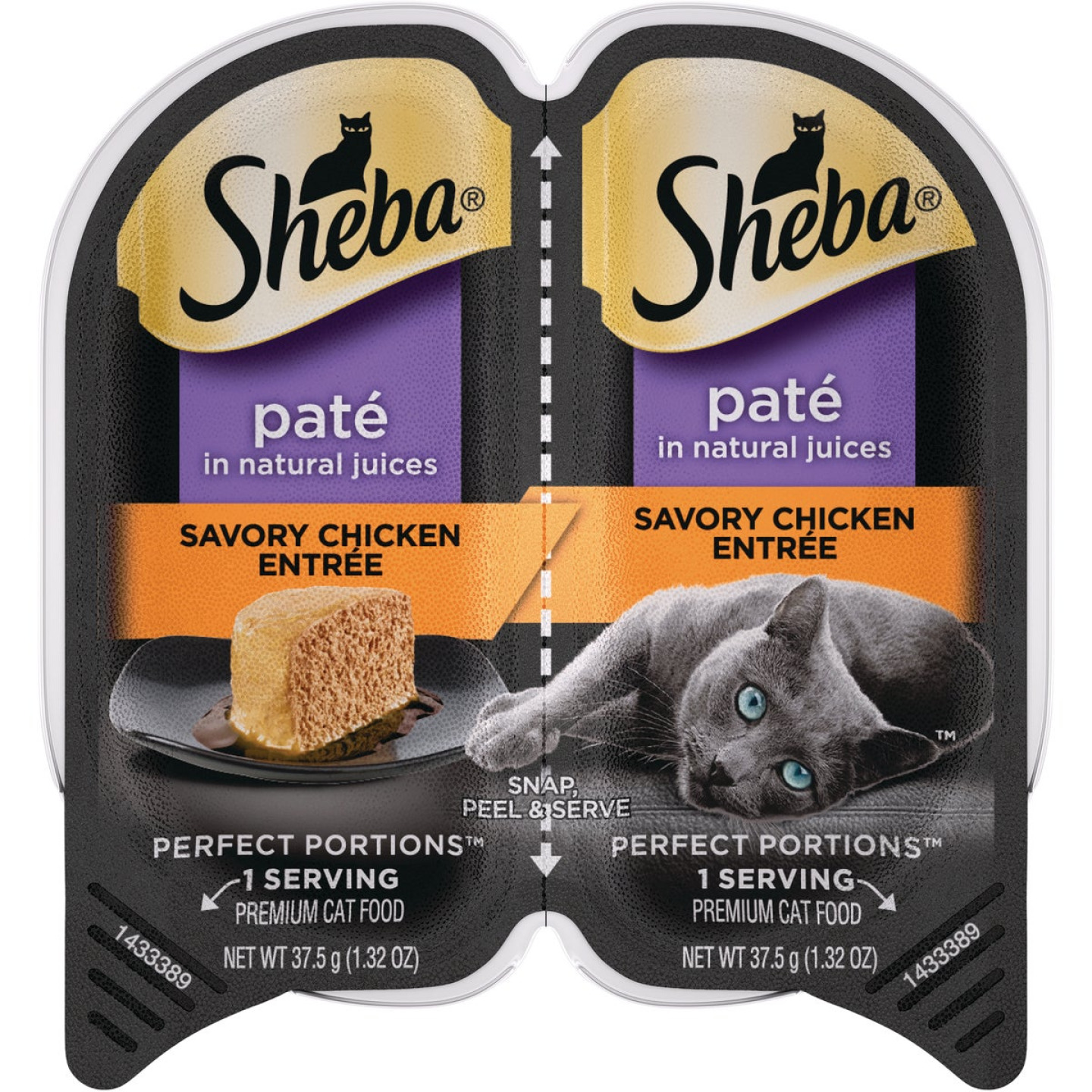 Sheba Perfect Portions Pate 2.6 Oz. Adult Savory Chicken Wet Cat Food Image 1