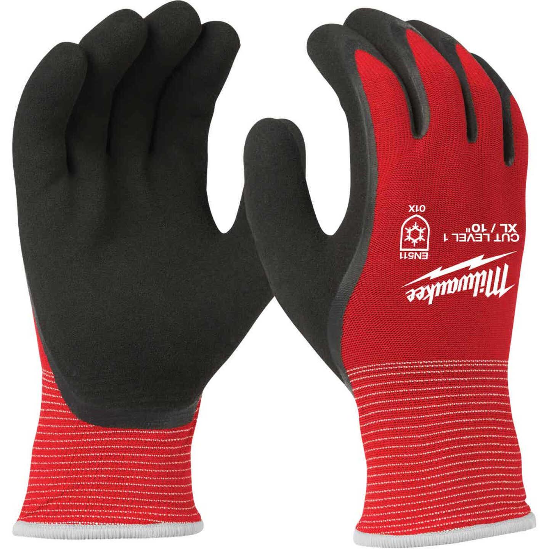 Milwaukee Unisex XL Latex Coated Cut Level 1 Insulated Work Glove Image 1