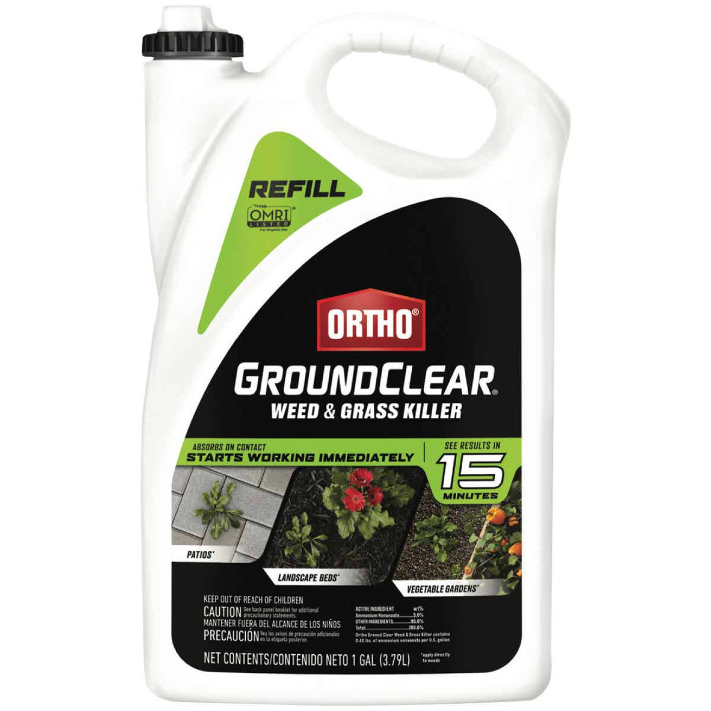 Ortho GroundClear 1 Gal. Ready To Use Refill Weed & Grass Killer Image 1