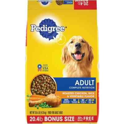 Pedigree Complete Nutrition 20.4 Lb. Roasted Chicken, Rice, & Vegetable Adult Dry Dog Food