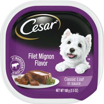 Cesar Classic Loaf Filet Mignon Adult Wet Dog Food, 3.5 Oz.