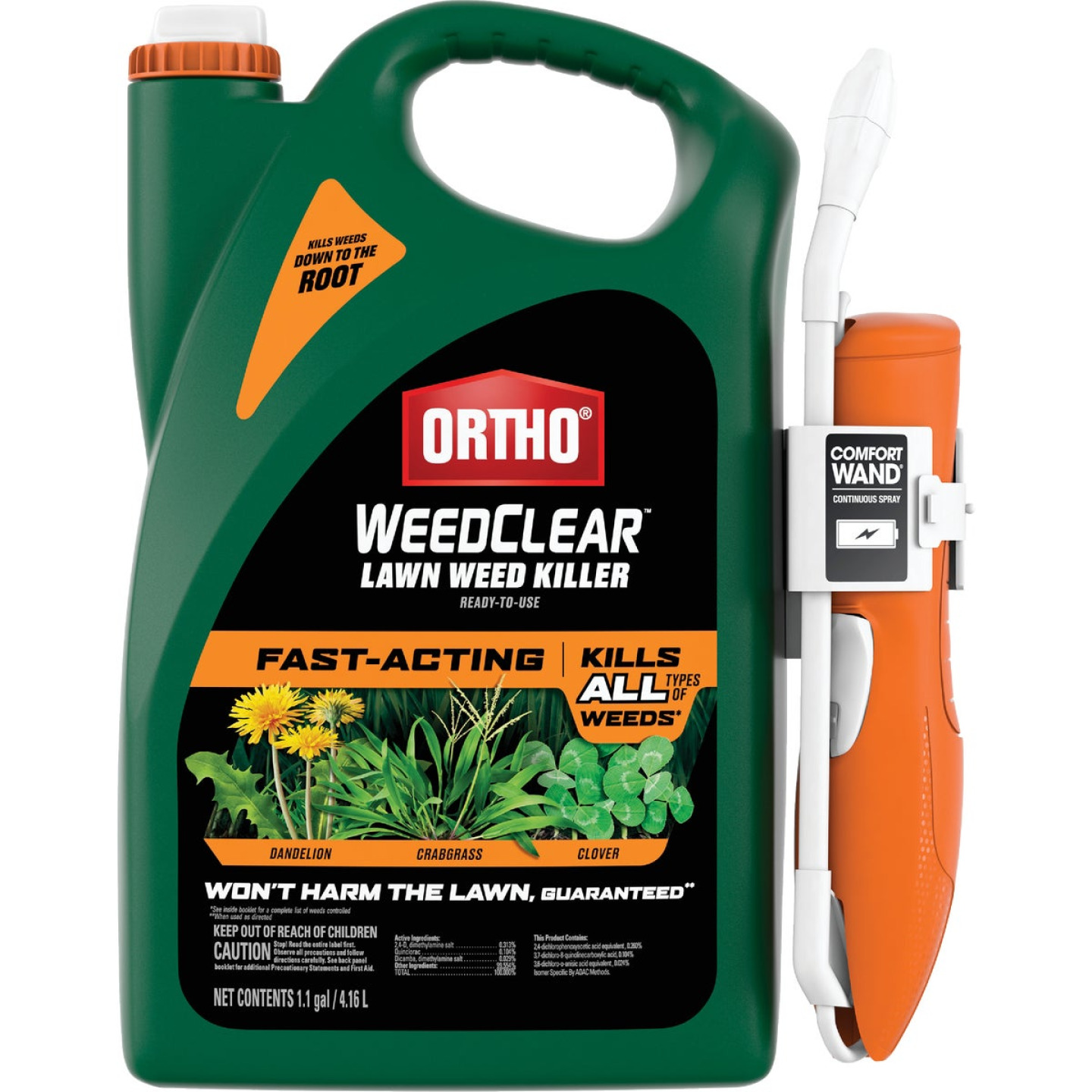 Ortho WeedClear 1.1 Gal. Ready To Use Wand Sprayer Northern Lawn Weed Killer Image 1