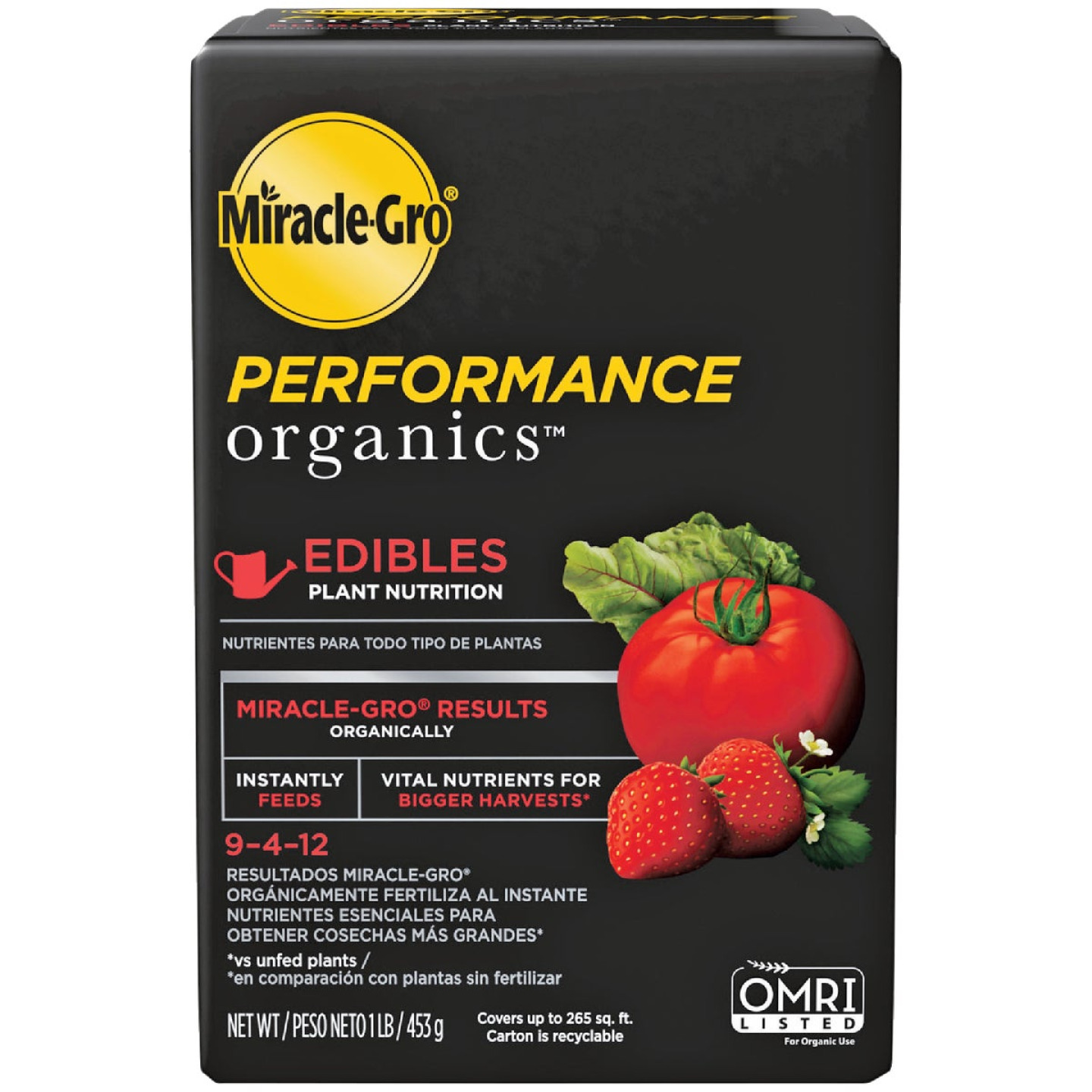 Miracle-Gro Performance Organics 1 Lb. 9-4-12 Plant Food for Edibles Image 1