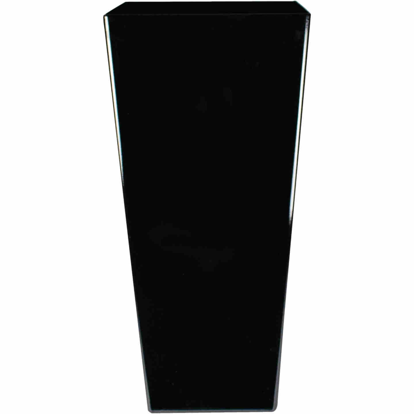 Myers Cascade 12 In. Black Onyx Square Planter Image 1