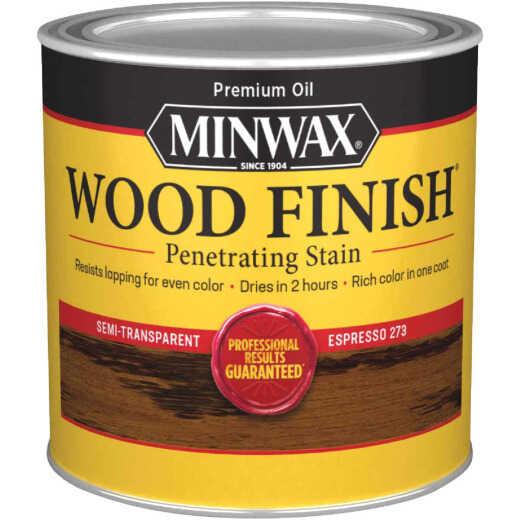 Minwax Wood Finish Penetrating Stain, Espresso, 1/2 Pt.