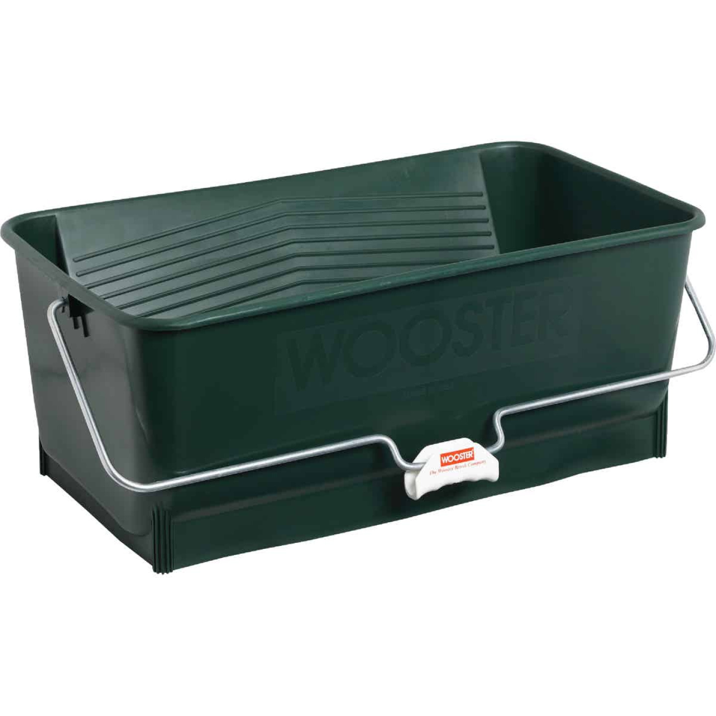 Wooster Wide Boy 5 Gal. Green Painter's Bucket Image 1
