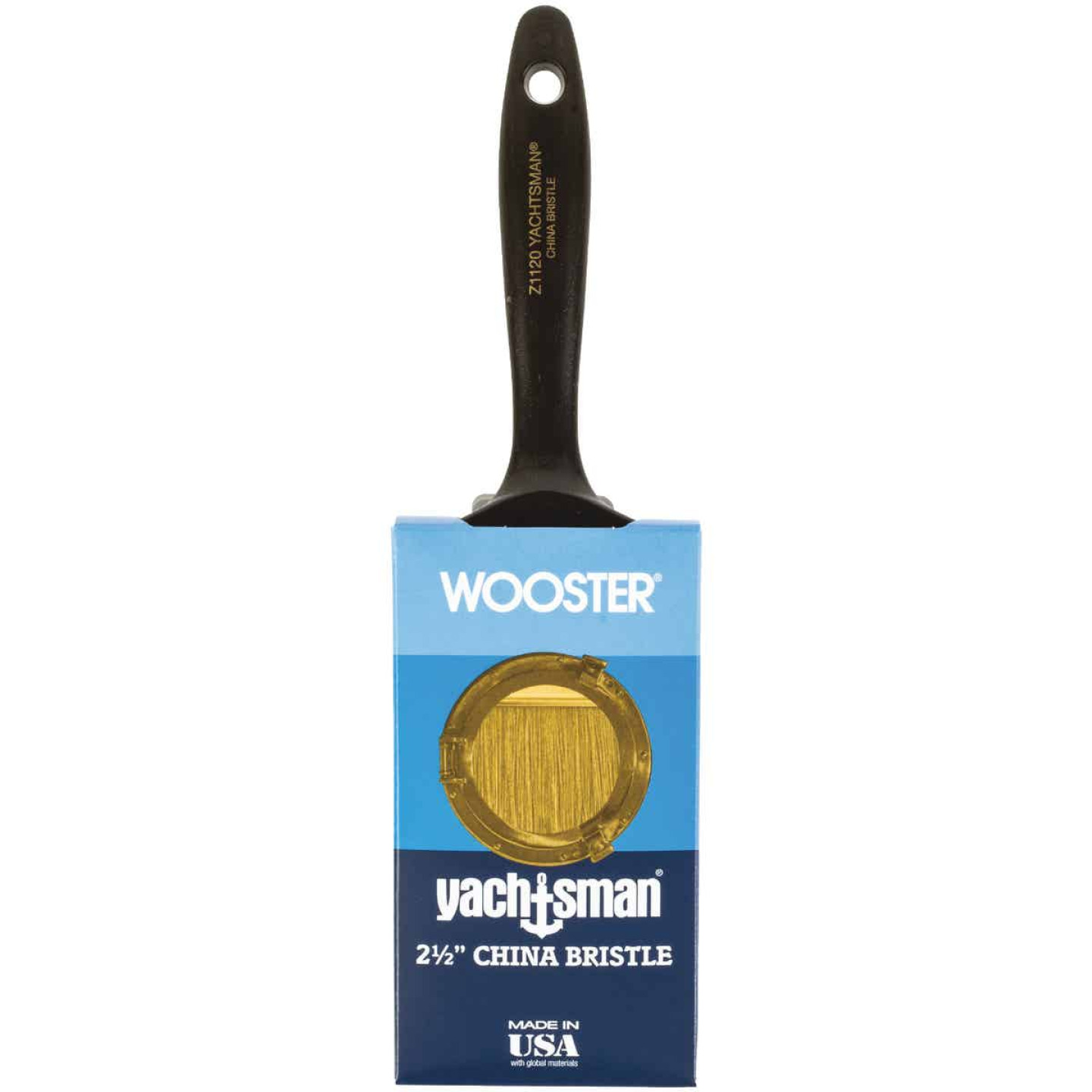 Wooster Yachtsman Varnish 2-1/2 In. Flat Paint Brush Image 1