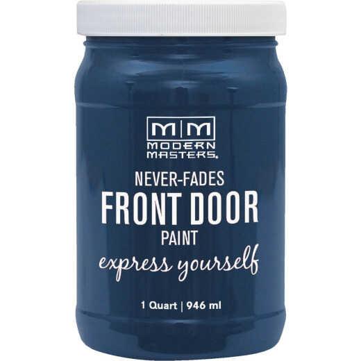 Modern Masters Acrylic Satin Front Door Paint, Calm, 1 Qt.
