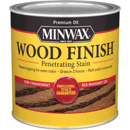 Minwax Wood Finish Penetrating Stain, Red Mahogany, 1/2 Pt.