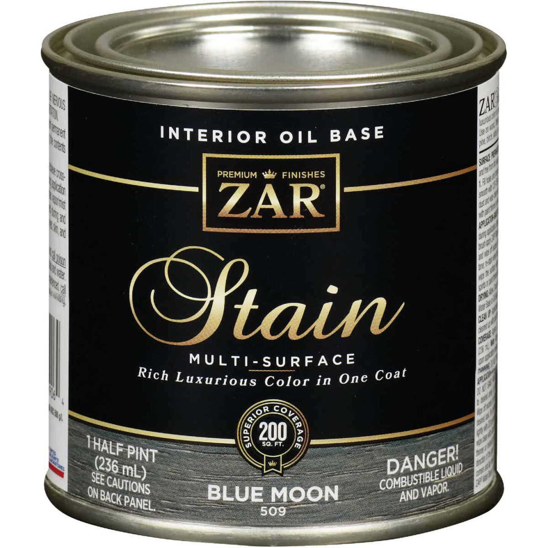 Zar 1/2 Pt. Blue Moon Oil-Based Multi-Surface Interior Stain Image 1