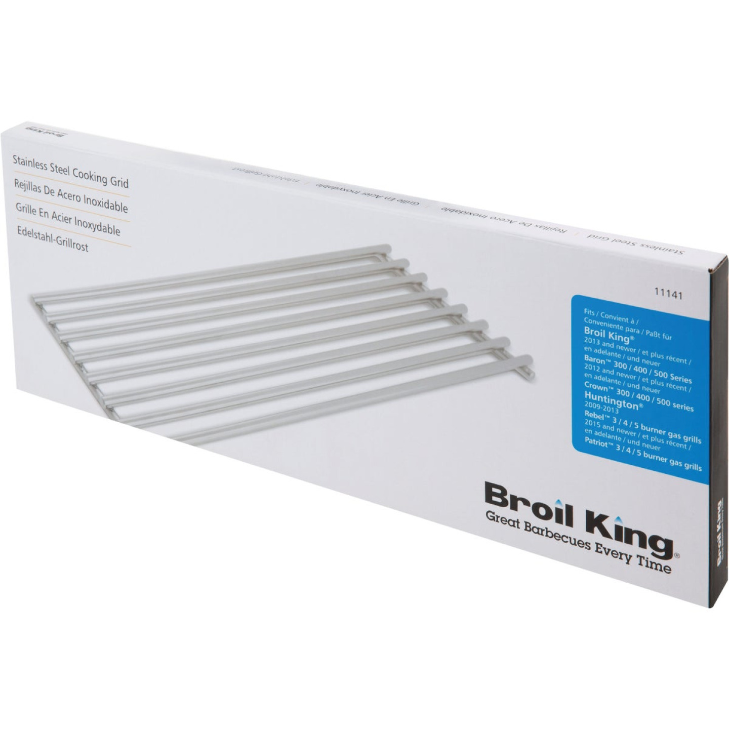 Broil King 6.3 In. x 17.4 In. Stainless Steel Cooking Grid Image 2
