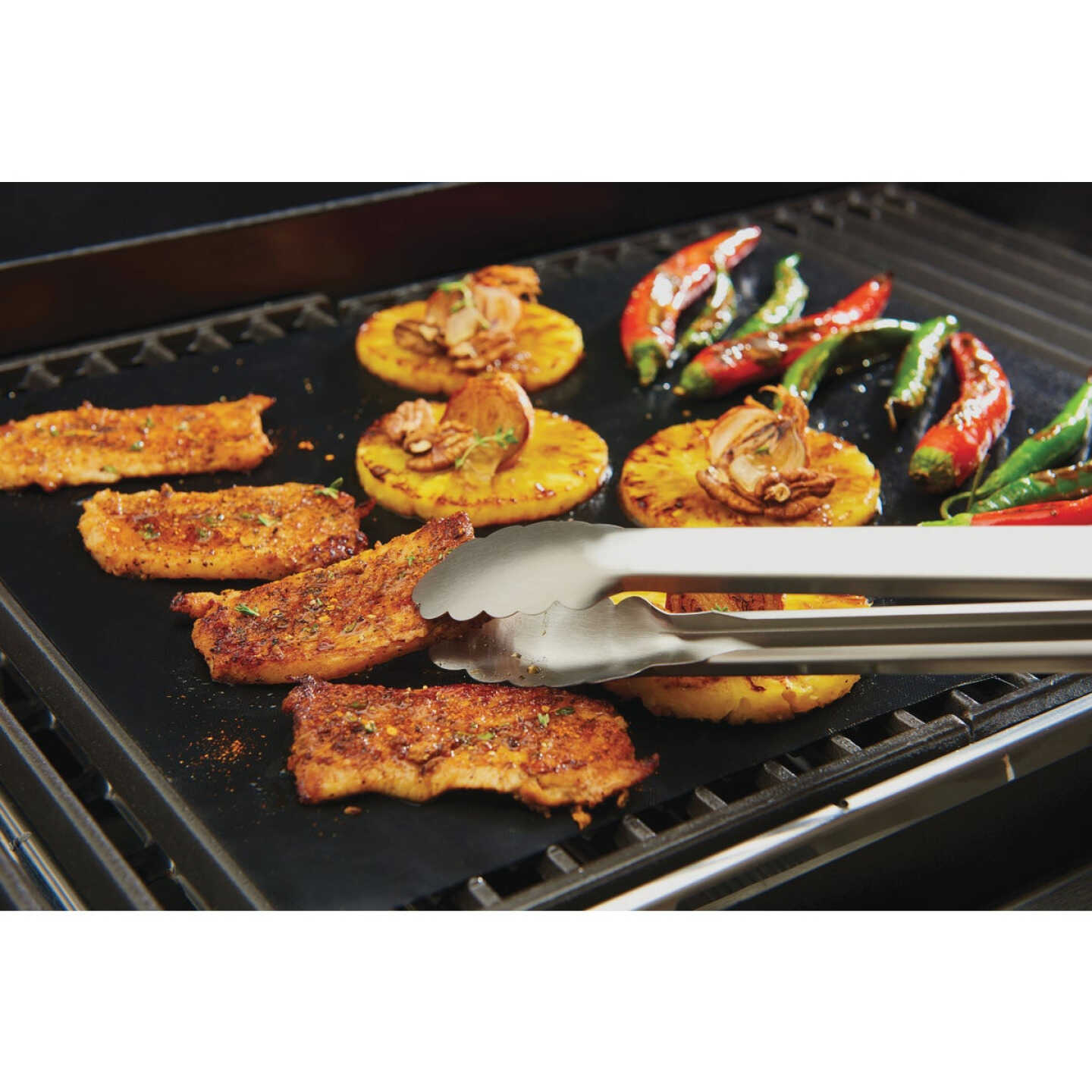 GrillPro 15.75 In. W. x 13 In. L. Non-Stick Cooking Mat (2-Pack) Image 2