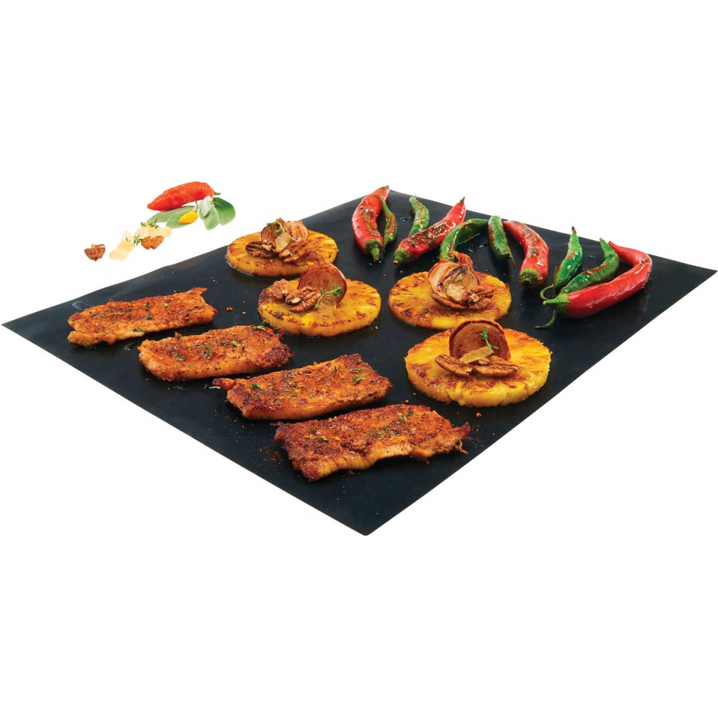 GrillPro 15.75 In. W. x 13 In. L. Non-Stick Cooking Mat (2-Pack) Image 4