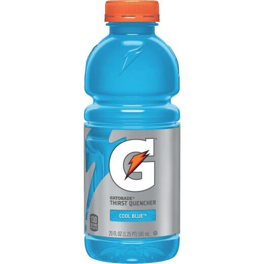 Gatorade 20 Oz. Cool Blue Raspberry Wide Mouth Thirst Quencher Drink (24-Pack)