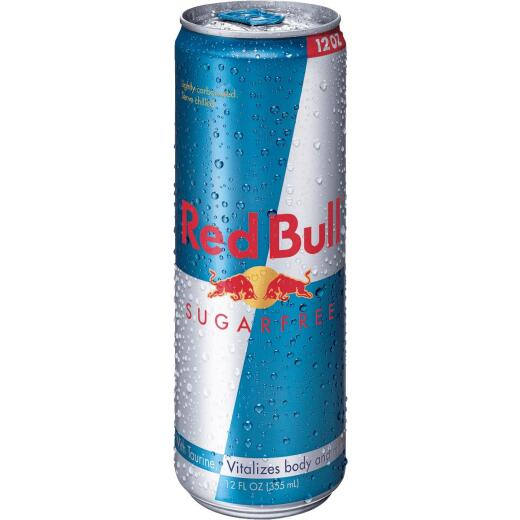 Red Bull 12 Oz. Sugar-Free Energy Drink